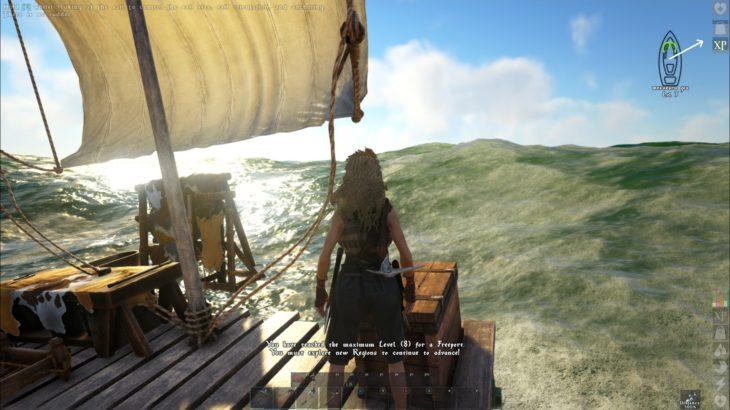 【ATLAS】LV上限突破するために筏で大冒険!